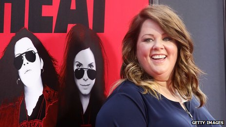 Melissa McCarthy at The Heat US premiere