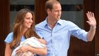 Baby Cambridge leaves hospital