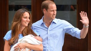 Duke, Duchess and Prince of Cambridge