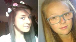 Chloe Fowler and Tonibeth Purvis