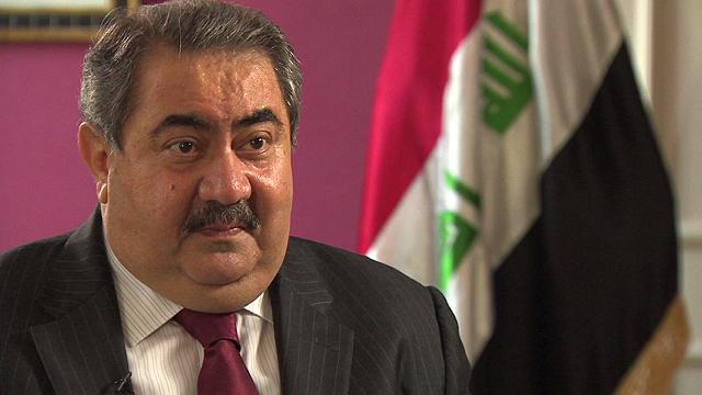 Iraq's foreign minister, Hoshyar Zebari