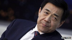 File photo: Bo Xilai, 6 March 2010