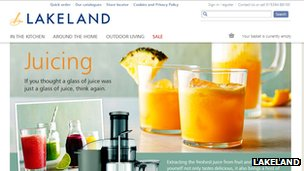 Lakeland website