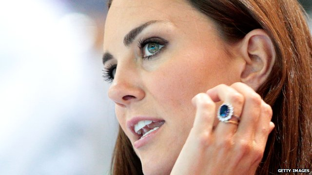 Duchess of Cambridge wore Diana's engagement ring