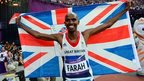 Mo Farah at the London 2012 Olympic Games