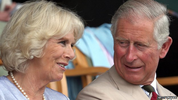 The Duchess of Cornwall and the prince both had their own engagements around the showground at Llanelwedd near Builth Wells