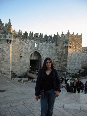 Maysoon Zayid in Jerusalem