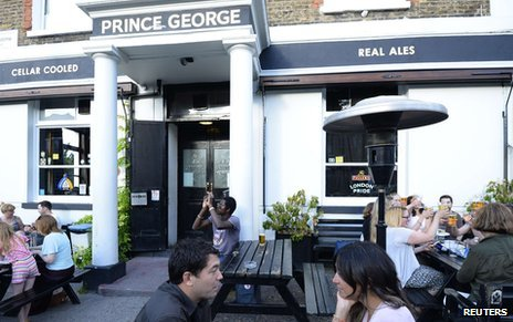 The Prince George pub, London