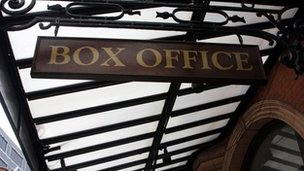 Box Office sign