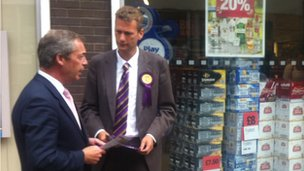 Farage and Nathan Gill