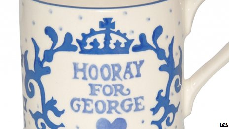 Royal baby mug design
