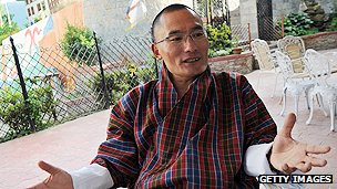 Bhutanese prime minister-elect Tshering Tobgay
