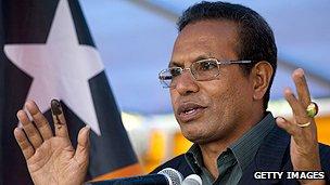 East Timor's president Taur Matan Ruak