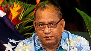 Marshall Islands President Christopher Loeak