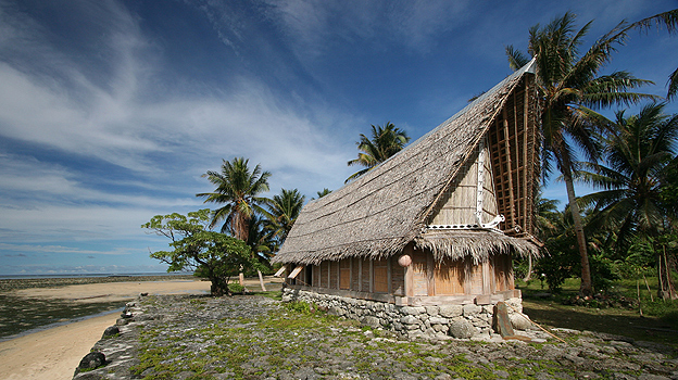 House on the island of Yap