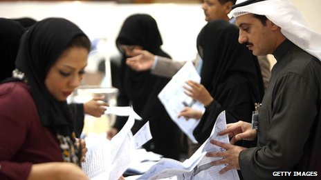 Ballots counted in December 2012 Kuwait election