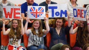 Tom Daley fans