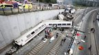 Spanish train derailment