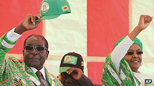 Zimbabwean President Mugabe