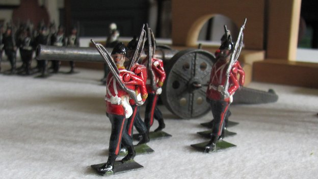HG Wells's toy soldiers