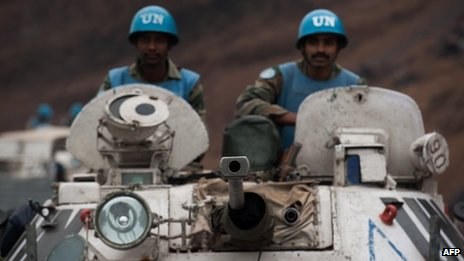 UN troops in DR Congo