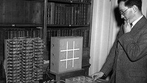 Donald Davies in 1949