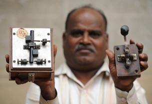 telegraph device