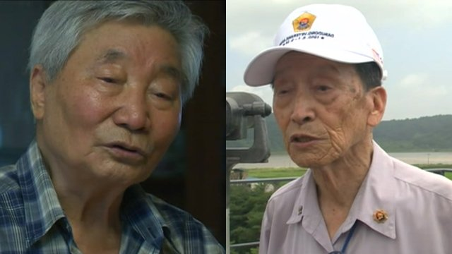 Two Korean War veterans