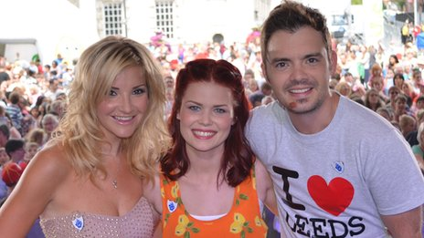 Lindsey Russell joins Helen Skelton and Barney Harwood