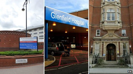 Leeds General Infirmary, Glenfield Hospital, Royal Brompton