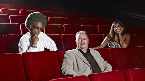 6 Music's Don Letts, BBC Four's Neil Brand and 1Xtra's Rhianna Dhillon in cinema audience
