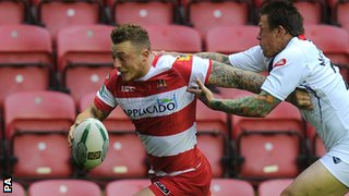 Wigan's Josh Charnley