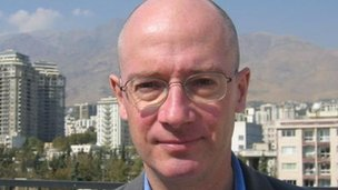 John Leyne in Tehran, 2007 picture