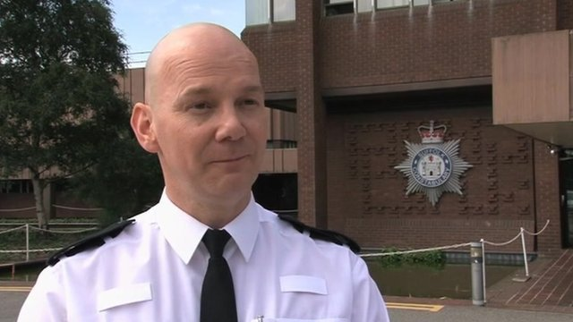 Supt Jon Dodman, of Suffolk police
