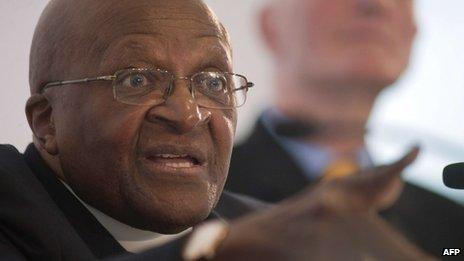 Desmond Tutu (26 July 2013)