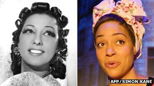 Josephine Baker in 1920s Paris and Cush Jumbo in Josephine and I