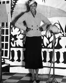 Josephine Baker in London in 1933