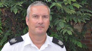 Dave Pederson, Suffolk Fire Service
