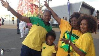 Usain Bolt fans