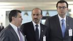 VIDEO: Syria rebel leaders hold talks at UN