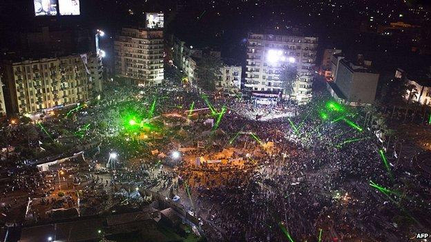 Anti-Morsi rally in Tahrir Square