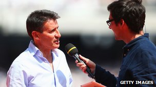 Lord Coe is interviewed by Colin Murray