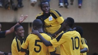 Uganda celebrate win in African Nations Championship