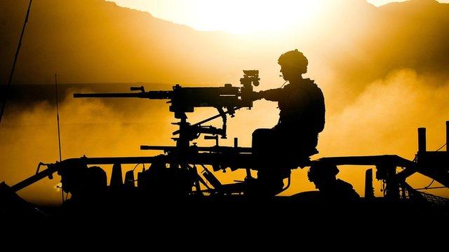 File picture British soldier