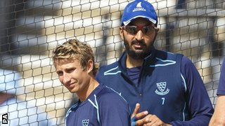 James Taylor and Monty Panesar