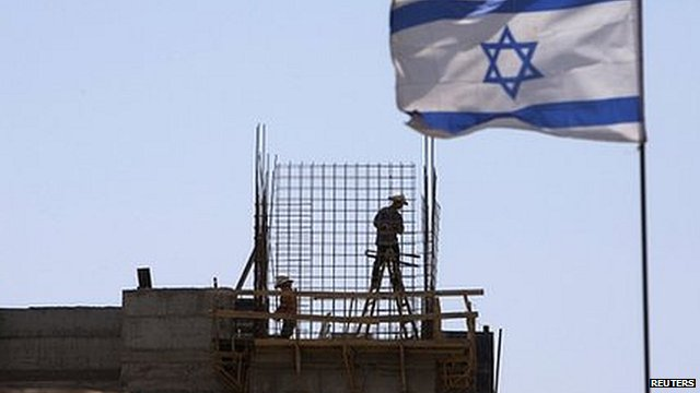 Jewish settlement near Jerusalem. 27 July 2013