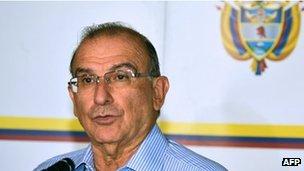 Humberto de la Calle, Colombian negotiator