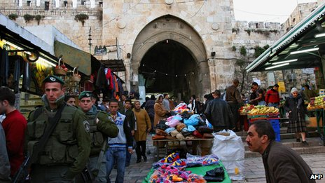 Damascus Gate, Jerusalem