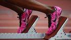 Perri Shakes-Drayton's funky trainers