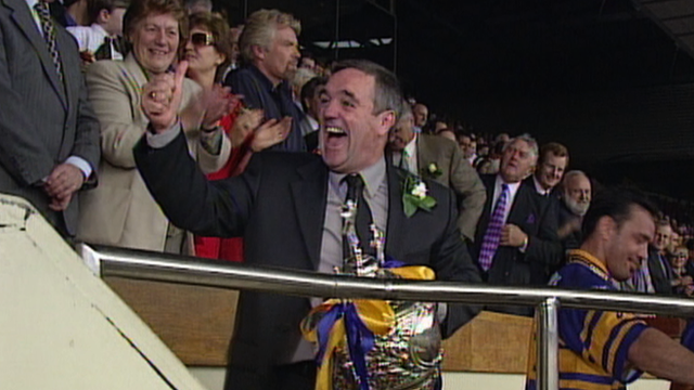 Graham Murray with Challenge Cup